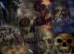Fonds d'écran Art - Numérique Les Squelette !!! 2