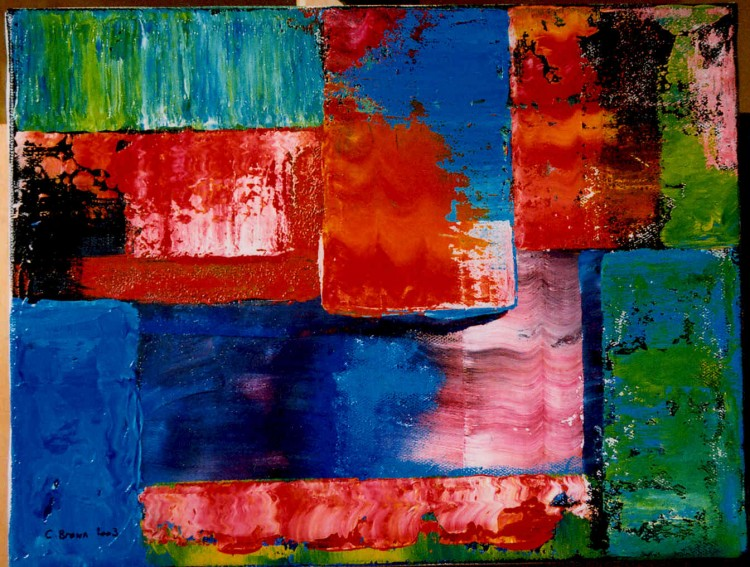 Fonds d'écran Art - Peinture Abstrait Wallpaper N°72008