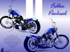 Fonds d'écran Motos Bobber Panhead