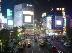 Fonds d'écran Voyages : Asie Le quartier de Shibuya