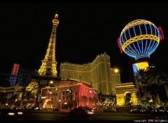 Fonds d'écran Voyages : Amérique du nord Le mini Paris à Las Vegas