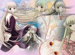 Fonds d'écran Manga Chobits