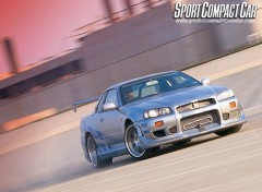 Wallpapers Movies Nissan Skyline de brian