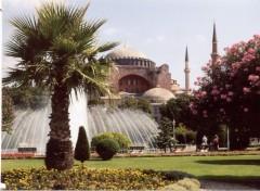 Fonds d'écran Voyages : Asie Parc de Sultan Ahmet