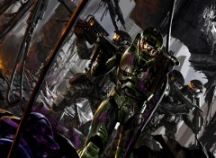 Wallpapers Video Games Halo 2 team