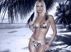 Fonds d'écran Célébrités Femme Caprice Tropique