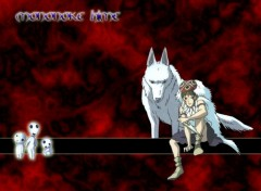Wallpapers Cartoons Mononoke Hime
