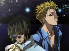Fonds d'écran Manga Ginji et Ban-chan^^