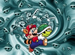 Wallpapers Video Games Mario in carapace world^^