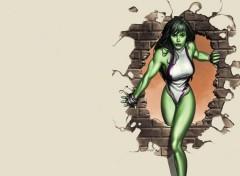 Fonds d'écran Comics et BDs She-Hulk