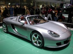 Wallpapers Cars Carrera GT Geneve 2004