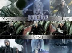 Wallpapers Video Games Yazoo, Kadaj & Loz