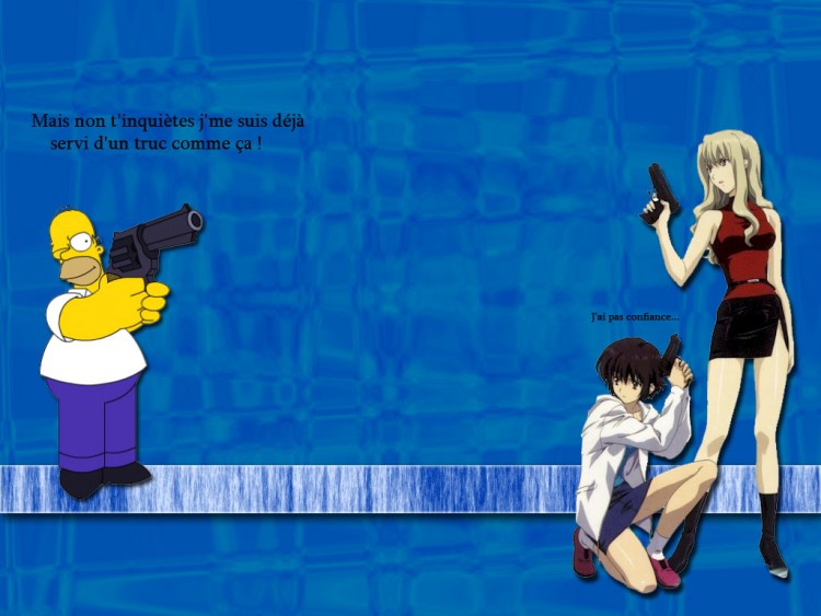 Wallpapers Humor Miscellaneous Quand Noir s'associe avec Omer lol