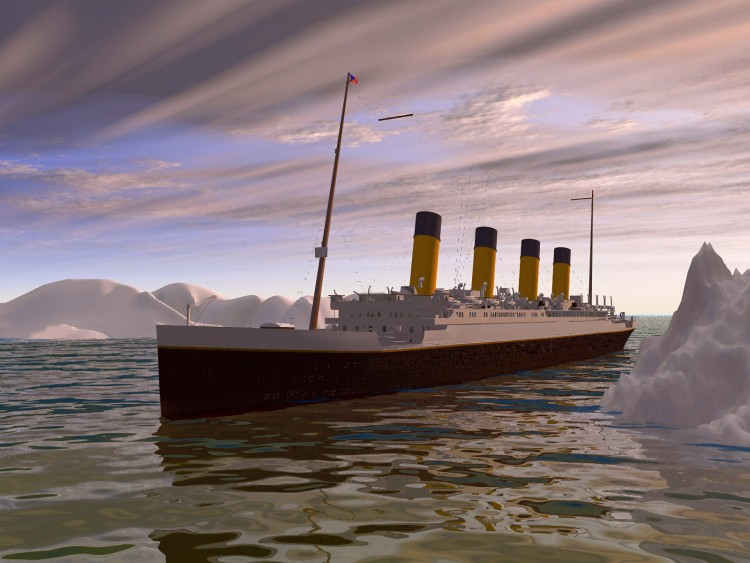 wallpapers titanic. Wallpapers Boats Titanic