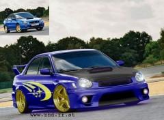 Fonds d'écran Voitures Subaru Impreza WRX STi-R