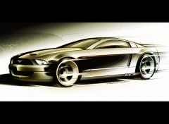 Fonds d'écran Voitures Ford Mustang GT Concept