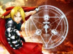 Fonds d'écran Manga Edward Elric