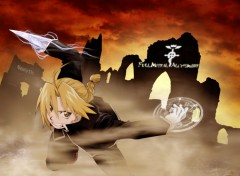 Fonds d'écran Manga Ed en plein combat !!
