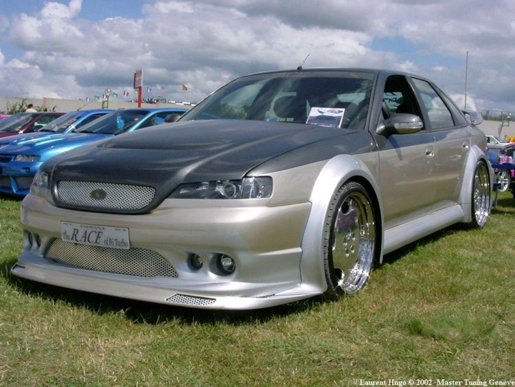 Wallpapers Cars Tuning Renault Safrane TUNiNG