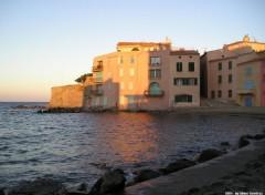 Wallpapers Trips : Europ St-Tropez soleil couchant