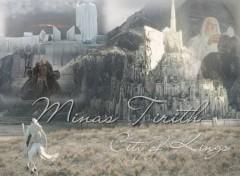 Fonds d'écran Cinéma Minas Tirith