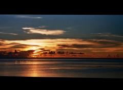 Fonds d'écran Nature Couché de soleil à l'île Maurice