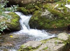 Fonds d'écran Nature Cascade du Cady 1