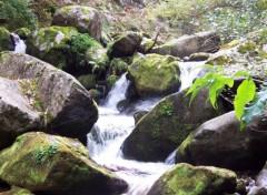 Fonds d'écran Nature Cascade du Cady 3