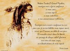 Wallpapers Digital Art Prière Sioux Lakota