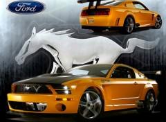 Fonds d'écran Voitures Mustang GTR Concept