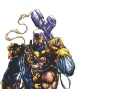 Fonds d'écran Comics et BDs Cable & Wolverine