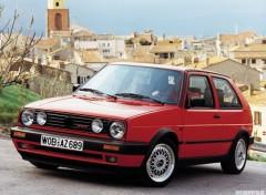 Wallpapers Cars VW Golf II GTi (1990)
