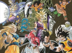 Wallpapers Manga montage dbz