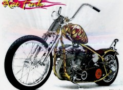 Fonds d'�cran Motos Rat Fink