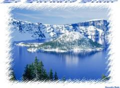 Fonds d'écran Nature Montagne Recouvert De Neige !!!