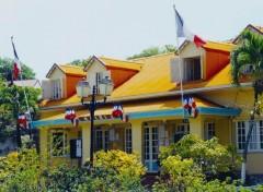 Wallpapers Trips : North America La mairie de l'île des Saintes - Guadeloupe