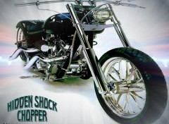 Fonds d'�cran Motos Hidden Shock Chopper