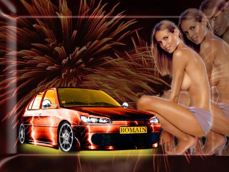 Fonds d'écran Erotic Art Moteurs et Pinups Wallpaper N°87674