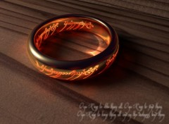 Fonds d'écran Cinéma The One Ring