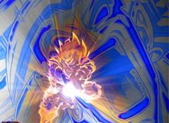 Fonds d'écran Manga Goku Vs Broly !
