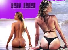 Fonds d'écran Erotic Art Sexy Beach
