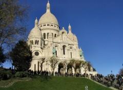 Wallpapers Trips : Europ Basilique du Sacré-Coeur, Montmartre