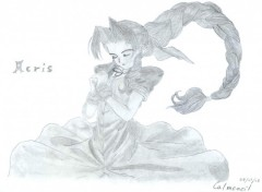 Wallpapers Art - Pencil Aeris (ffVII)
