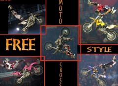 Fonds d'écran Motos FMX