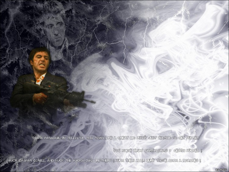 tony montana wallpaper. Wallpapers Movies Tony Montana