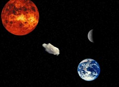Fonds d'écran Espace Par une nuit étoilée