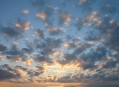 Fonds d'écran Nature Coucher de nuages
