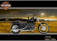 Fonds d'�cran Motos Harley Davidson-Night Train