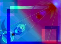 Fonds d'écran Art - Numérique geometrie et couleurs