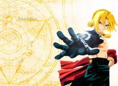 Fonds d'écran Manga Edward Elric, l'Alchimiste de Métal
